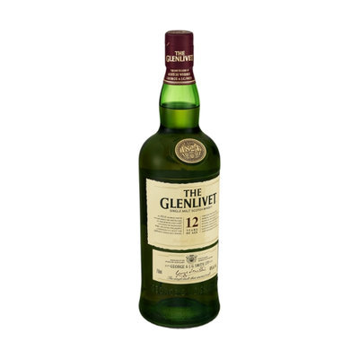 The Glenlivet Single Malt Scotch Whiskey