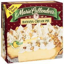 Marie Callenders Banana Cream Pie