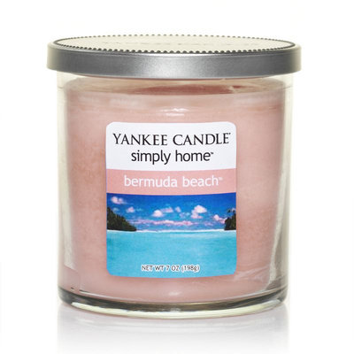Yankee Candle simply home Bermuda Beach 7-oz. Jar Candle (Pink)