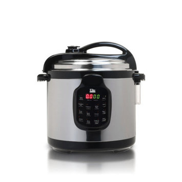 Elite by Maxi-Matic Platinum 6-Quart Electric Stainless Steel Pressure Cooker with Stainless Steel Pot