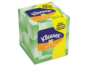 Kimberly-clark 25836 - Kleenex Antiviral Facial Tissue - White, 27/Carton, Boutique