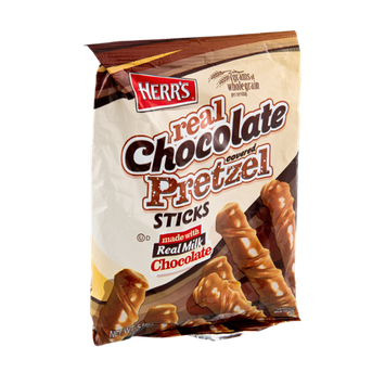 Herr's® Real Chocolate Covered Pretzel Sticks