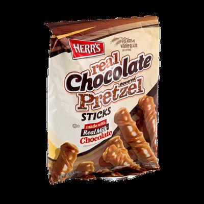 Herr's® Real Chocolate Covered Pretzel Sticks