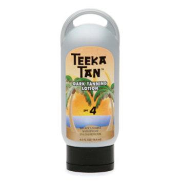 Teeka Tan Dark Tanning Lotion SPF 4