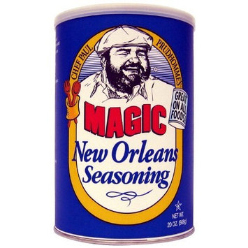 Chef Paul New Orleans Seasoning Blend, 20-Ounce Canisters (Pack of 2)