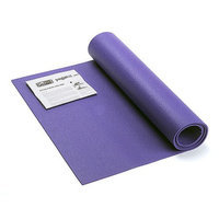 GoFit Yoga Mat with Yoga Posture Poster