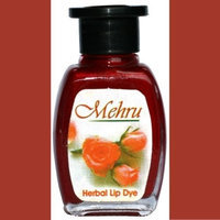 Mehru Lip Stain - Natural Herbal Lip Stain in Various Colors