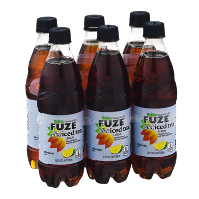 Fuze Diet Iced Tea Lemon - 6 CT