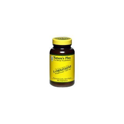 Nature's Plus - L-Ornithine, 500 mg, 90 capsules