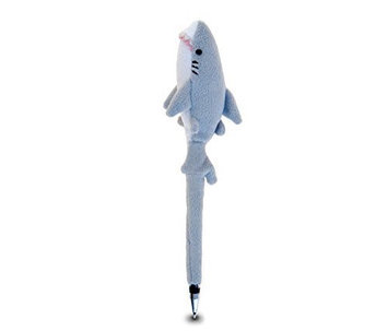 Puzzled 5528 Plush Pen - Shark -Pack of 6