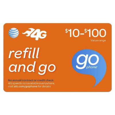 AT&T Mobility Web $50 Prepaid Card(email delivery)