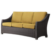 Wicker Sofa: Threshold Yellow Patio Furniture, Belvedere Collection