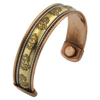 Ganesh Mall Magnetic Copper Ganesh Bracelet
