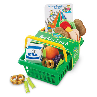 Learning Resources Pretend & Play Healthy Lunch Basket
