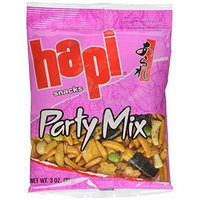 Hapi Party Mix, 3-Ounce Bags (Pack of 12)
