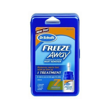 Dr. Scholl's Freeze Away Wart Remover 7 Treatments (Case of 6)