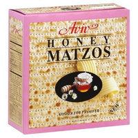 Aviv Honey Matzos, 10.5-Ounce (Pack of 4)