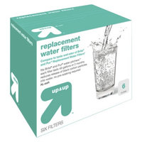 up & up Universal Replacement Water Filters 6-ct.