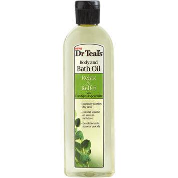 Dr. Teal's Body & Bath Oil, Eucalyptus Spearmint, 8.8 fl oz