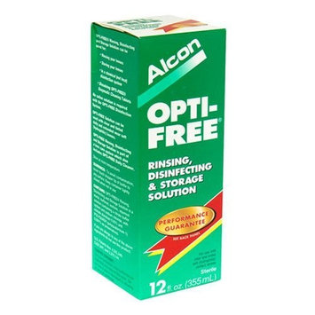 Opti-Free Rinsing, Disinfecting and Storage Solution 12 Fluid oz