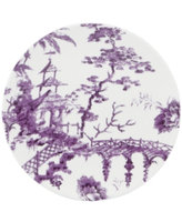 Scalamandre by Lenox, Toile Tale Amethyst Salad Plate