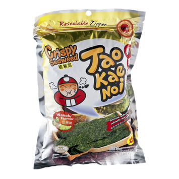 Tao Kae Noi Wasabi Flavor Crispy Seaweed