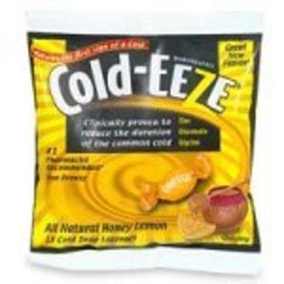 Cold-Eeze Homeopathic, Cold Drop Lozenges, All Natural Honey Lemon - 18 ea