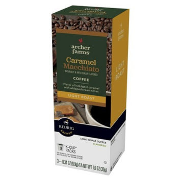 Archer Farms Caramel Macchiato Light Roast Coffee K-Cups 3 ct