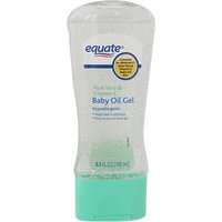 Equate Aloe Vera & Vitamin E Baby Oil Gel - 6.5 fl oz
