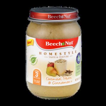 Beech Nut Homestyle Stage 3 Oatmeal, Pears & Cinnamon