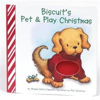 Biscuit's Pet & Play Christmas (Board Book)