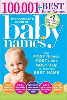 Complete Book of Baby Names Bolton, Lesley Paperback New
