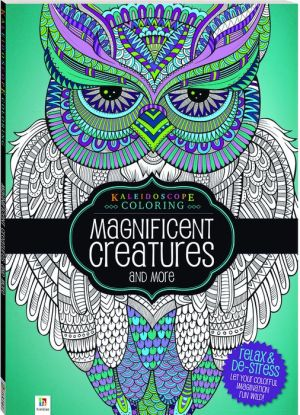 Kaleidoscope Coloring Magnificent Creatures