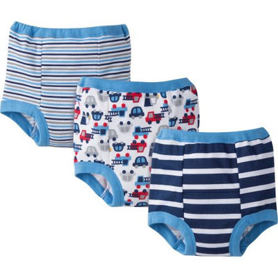 Gerber Baby Toddler Boy Potty Training Pants, 3-Pack Ages 2T-3T