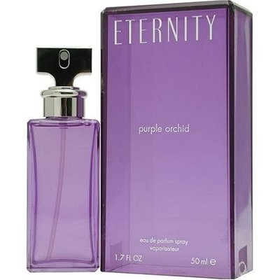 Eternity Purple Orchid by Calvin Klein for Women, Eau De Parfum Spray, 1.7 Ounce