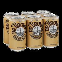 Diet Dr. Brown's The Original Cream Soda - 6 PK