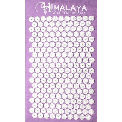 HIMALAYA ACUPRESSURE MAT  THE ORIGINAL HIMALAYA ACUPRESSURE MAT/ color LAVENDER Amazon awarded TOP SELLER!!!
