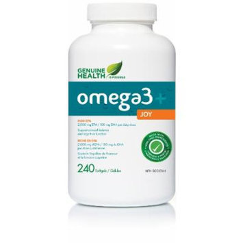 o3mega+ JOY -triple fish oil (240Capsules) For Mood Support. Brand: Genuine Health