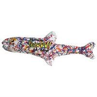 Duckyworld Products, Inc. Yeowww! Pollock Fish Catnip Toy