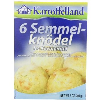 Kartoffelland 6 Semmel-Knodel (6 Bread Dumplings in Cooking Bags), 7-Ounce Boxes (Pack of 7)