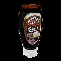 A&W Root Beer Float Dessert Topper
