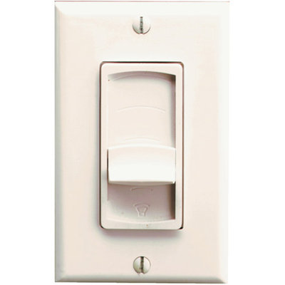 PRO-WIRE Pro-Wire VX-100I Impedance-Matching Stereo In-Wall Slider Volume Control, Ivory
