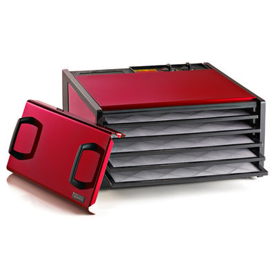 Excalibur Radiant Cherry 5 Tray Dehydrator with Timer
