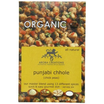 Arora Creations Organic Punjabi Chhole, Chick Pea Spice Blend, 0.8 Ounce