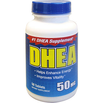 Amerifit Dhea 50 mg Dietary Supplement 50 ct