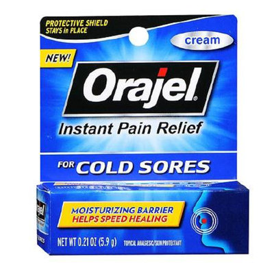 Orajel Cold Sores Cream