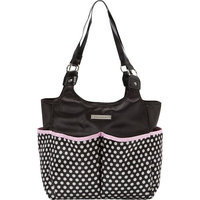 Smart Mommy Bags Classy Sassy Black and White Polka Dot Diaper Bag Black and White - Smart Mommy Bags Diaper Bags