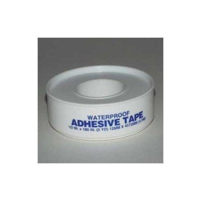 First-Aid Waterproof Adhesive Tape - 1/2 X 5 Yards