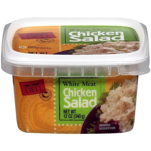 Wal Mart Deli White Meat Chicken Salad 12 Oz Reviews 2019