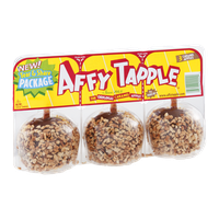 Affy Tapple Caramel Apples - 3 CT